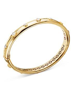 David Yurman - 18K Yellow Gold Modern Renaissance Bracelet with Diamonds