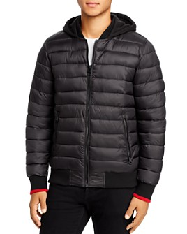 GUESS - Puffer Regular Fit Bomber Jacket