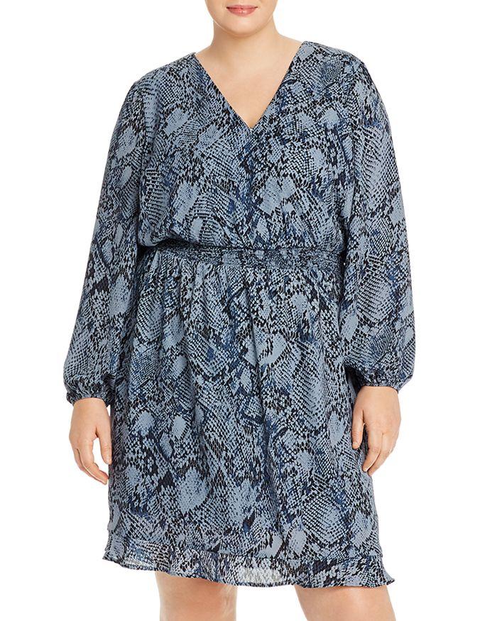 AQUA Curve - Printed Smocked-Waist Dress - 100% Exclusive