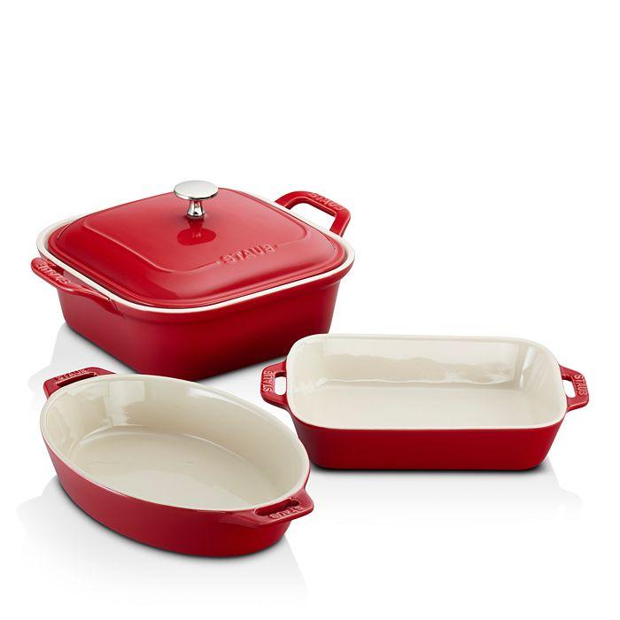 Staub - Ceramics 4-Piece Mixed Baking Dish Set