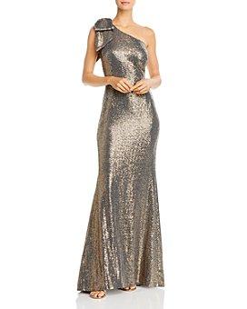 Eliza J - Sequin One-Shoulder Mermaid Gown