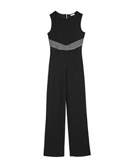 Sally Miller - Girls' Allie Sparkle Inset Jumpsuit - Big Kid
