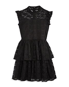 BCBGirls - Girls' Tiered Lace Dress - Big Kid