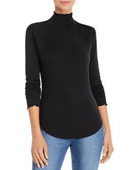 CHASER - Rib-Knit Turtleneck Tee