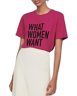 Maje Terminus What Women Want Tee