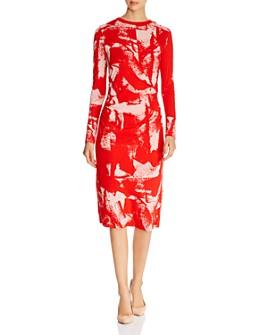BOSS - Esetta Ruched Dress