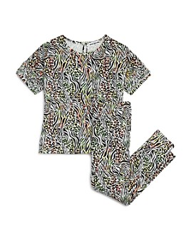 Mini Series - Girls' Animal Print Tee & Leggings, Little Kid - 100% Exclusive