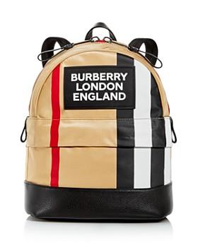 Burberry - Nico Stripe Nylon Backpack