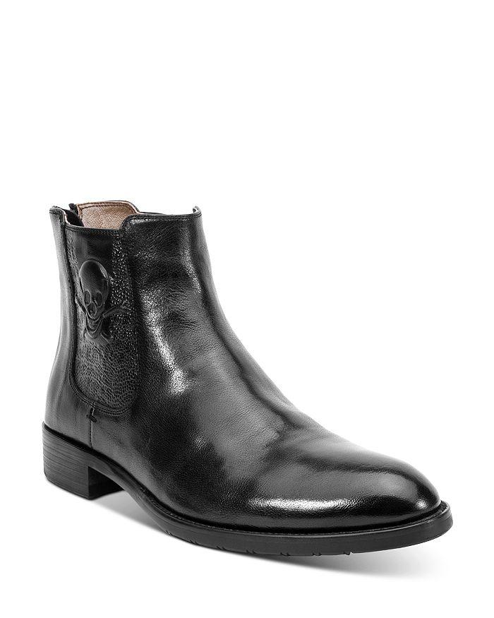 Robert Graham - Men's Dutchy Skull Leather Boots