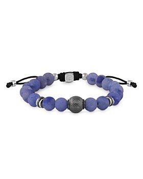 Tateossian - Blue Aventurine Bead Bracelet
