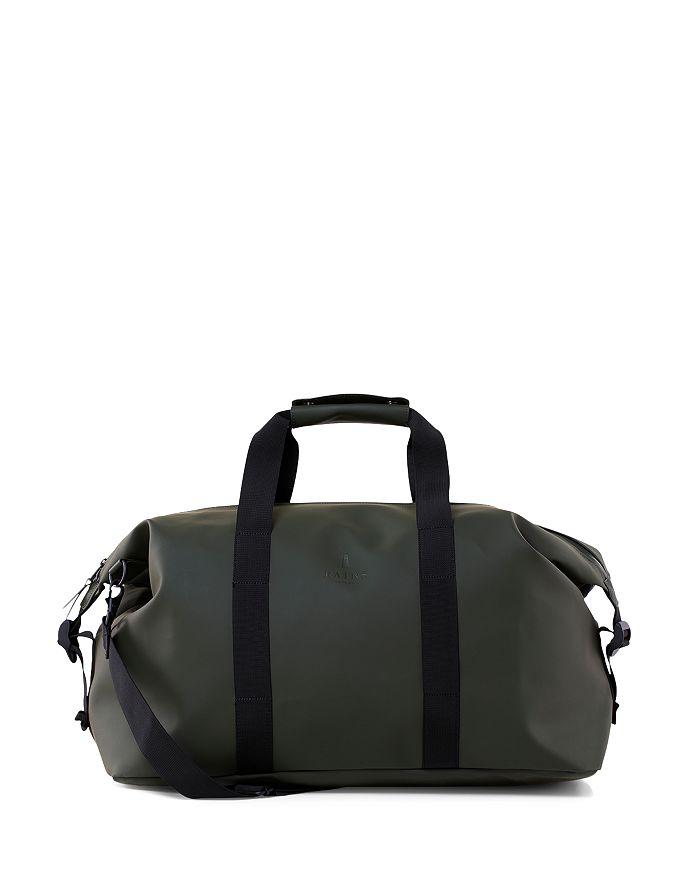 Rains Waterproof Weekender Bag In Green