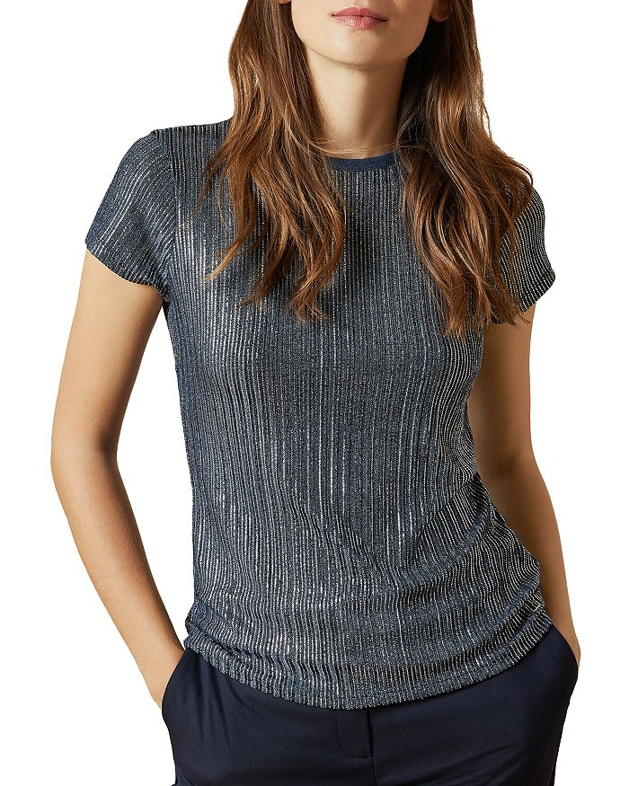 Ted Baker - Catrino Metallic Fitted Tee
