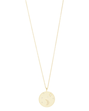 Gorjana Luna Coin Necklace, 28