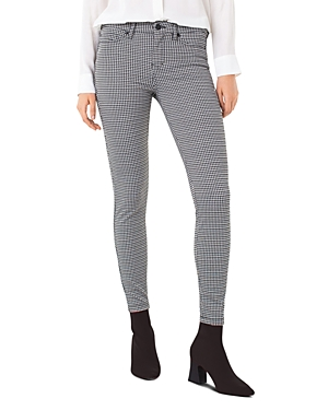 Liverpool Los Angeles Madonna Houndstooth Five-Pocket Leggings-Women
