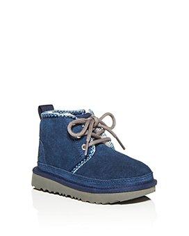 UGG® - Unisex Neumel Tasman Suede Boots - Walker, Toddler