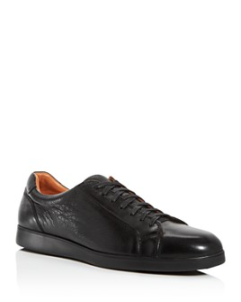 Gentle Souls by Kenneth Cole - Men's Ryder Leather Low-Top Sneakers