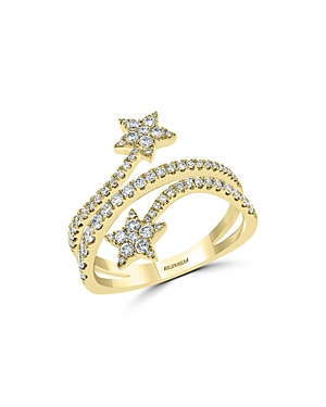 Bloomingdale's Diamond Star Ring in 14K Yellow Gold, 0.75 ct. t.w. - 100% Exclusive