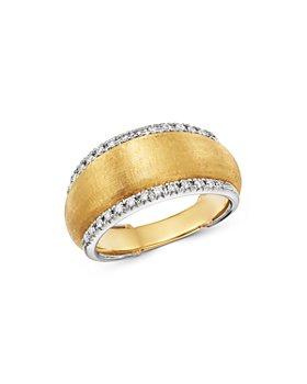 Marco Bicego - 18K Yellow & White Gold Lucia Diamond Ring