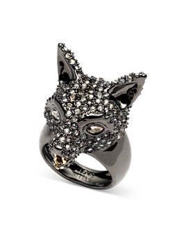 Alexis Bittar - Woodland Fantasy Pavé Fox Ring