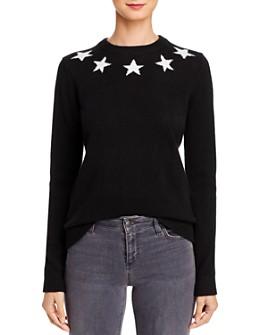 Minnie Rose - Star Cashmere Sweater