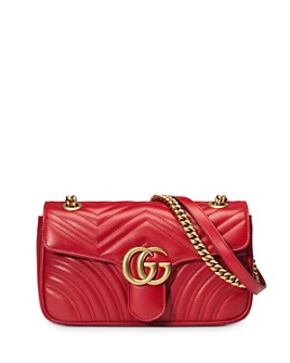Gucci - GG Marmont Small Matelassé Convertible Shoulder Bag