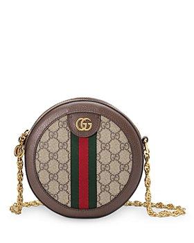 Gucci - Ophidia Mini GG Round Shoulder Bag