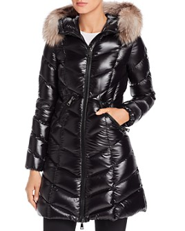 Moncler - Fulmarus Fur-Trim Down Coat