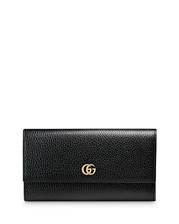 Gucci - GG Marmont Leather Continental Wallet