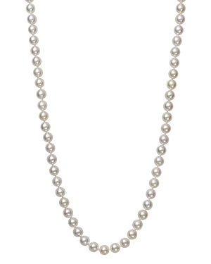 Bloomingdale's Akoya Pearl Necklace in 14K Yellow Gold, 18 - 100% Exclusive