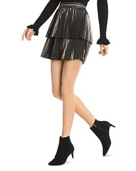 Bailey 44 - Colby Metallic Pleated Skirt
