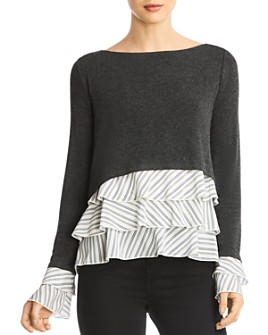 Bailey 44 - Donna Layered-Look Top