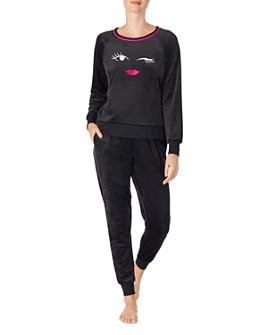 kate spade new york - Velour Jogger Pajama Set