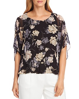VINCE CAMUTO - Enchanted Floral Batwing Top - 100% Exclusive