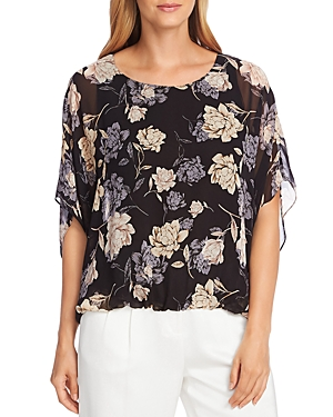 Vince Camuto Enchanted Floral Batwing Top - 100% Exclusive-Women