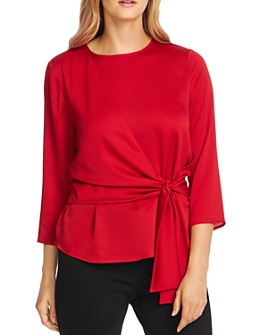 VINCE CAMUTO - Tie-Front Top - 100% Exclusive