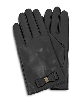 Ted Baker - Bblake Bow Detail Leather Gloves