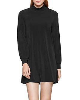 BCBGENERATION - Mock-Neck A-Line Mini Dress