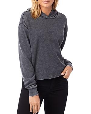 Alternative Cropped Hooded Sweatshirt