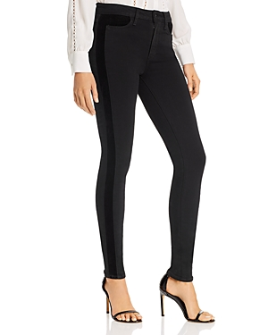 Paige Jeans HOXTON ULTRA SKINNY JEANS IN VELVET ONYX