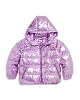 Stella McCartney - Girls' Metallic Puffer Coat - Little Kid, Big Kid
