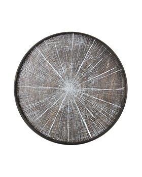 Notre Monde - White Slice Driftwood Tray
