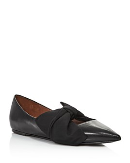 Tabitha Simmons - Women's Evangeline Bow-Embellished Flats