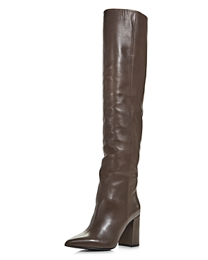 Tabitha Simmons Boots WOMEN'S IZZY HIGH-HEEL OVER-THE-KNEE BOOTS