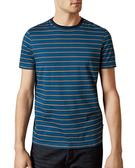 Ted Baker - Herbz Striped Cotton Slim Fit Short-Sleeve Tee - 100% Exclusive
