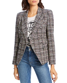 LINI - McKenzie Tweed Double-Breasted Blazer - 100% Exclusive