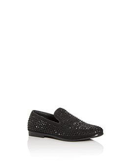 STEVE MADDEN - Boys' BCaviar Embellished Smoking Slippers - Little Kid, Big Kid