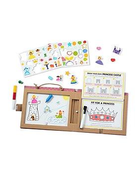 Melissa & Doug - Play, Draw, Create Princess Activity Kit - Age 3+