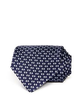 Salvatore Ferragamo - Dumbbell Silk Classic Tie
