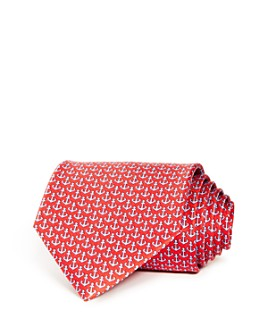 Salvatore Ferragamo - Anchor Silk Classic Tie