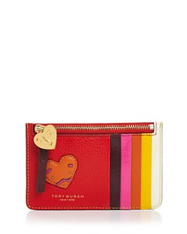 Tory Burch - Perry Patchwork Hearts Card Case